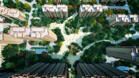 北门广场俯视