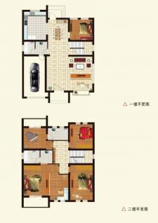 A1户型别墅五室两厅两卫